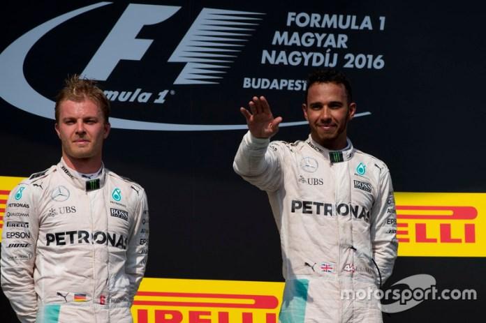 Hungría: Rosberg al segundo del campeonato