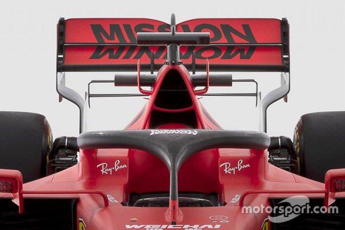 Ferrari SF1000 detalle del halo
