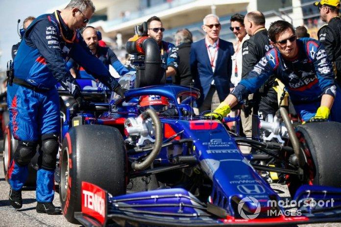 Toro Rosso, a la carga por el quinto puesto de constructores