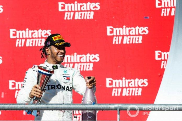 Campeón del Mundo Lewis Hamilton, Mercedes AMG F1