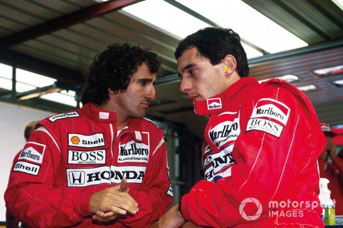 20. GP de Bélgica 1988: Ayrton Senna y Alain Prost (McLaren)
