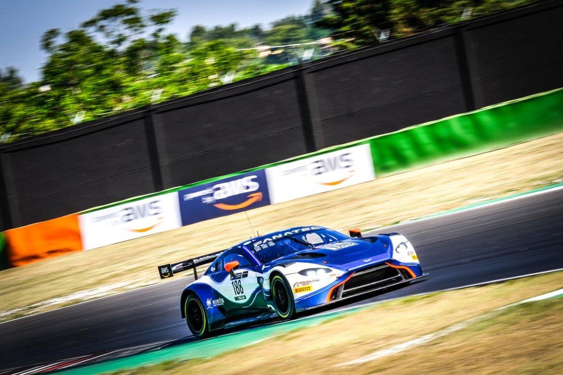# 188 Garage 59 Aston Martin Vantage AMR GT3: Alexander West, Jonny Adam