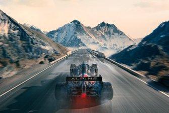 Alpine livery