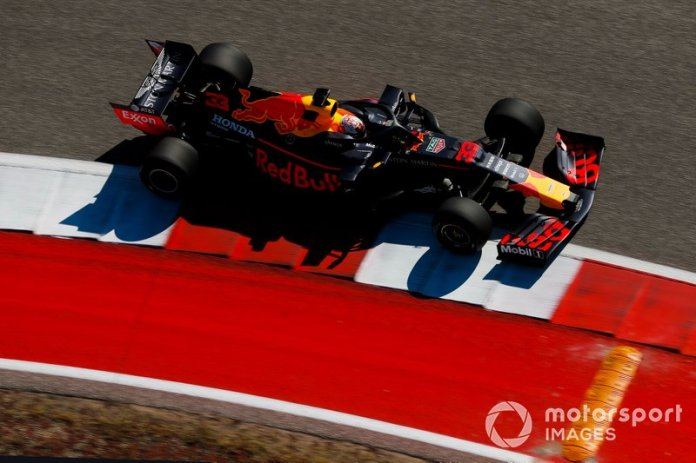 3.- Max Verstappen, Red Bull Racing RB15, 1m32.096s