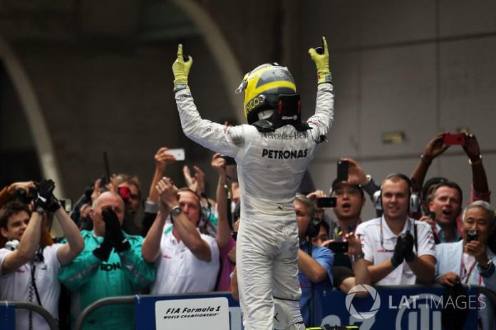 95: Nico Rosberg, Mercedes AMG F1 W03
