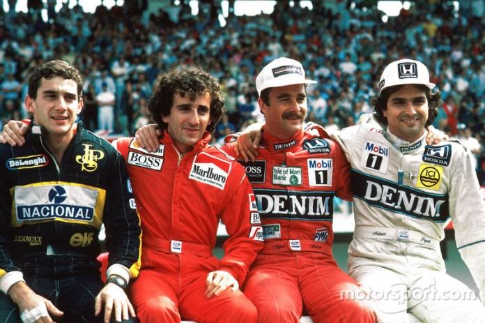 1986: los cuatro mosqueteros