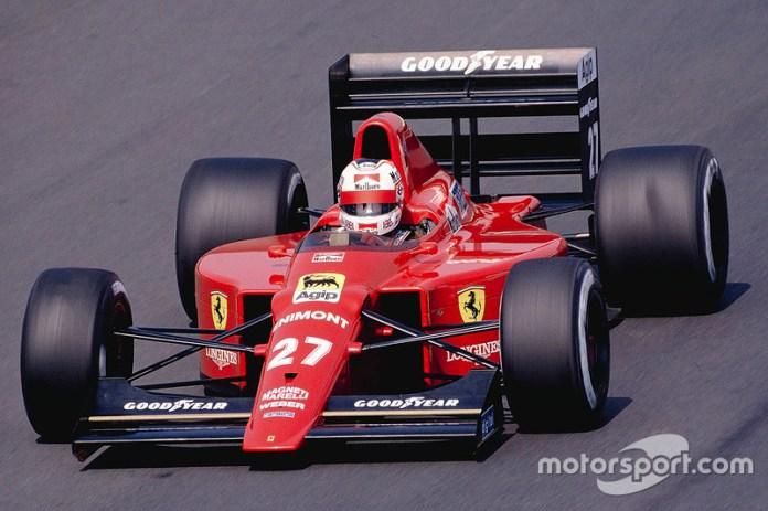 1989: Ferrari F1-89 (Ferrari 640)