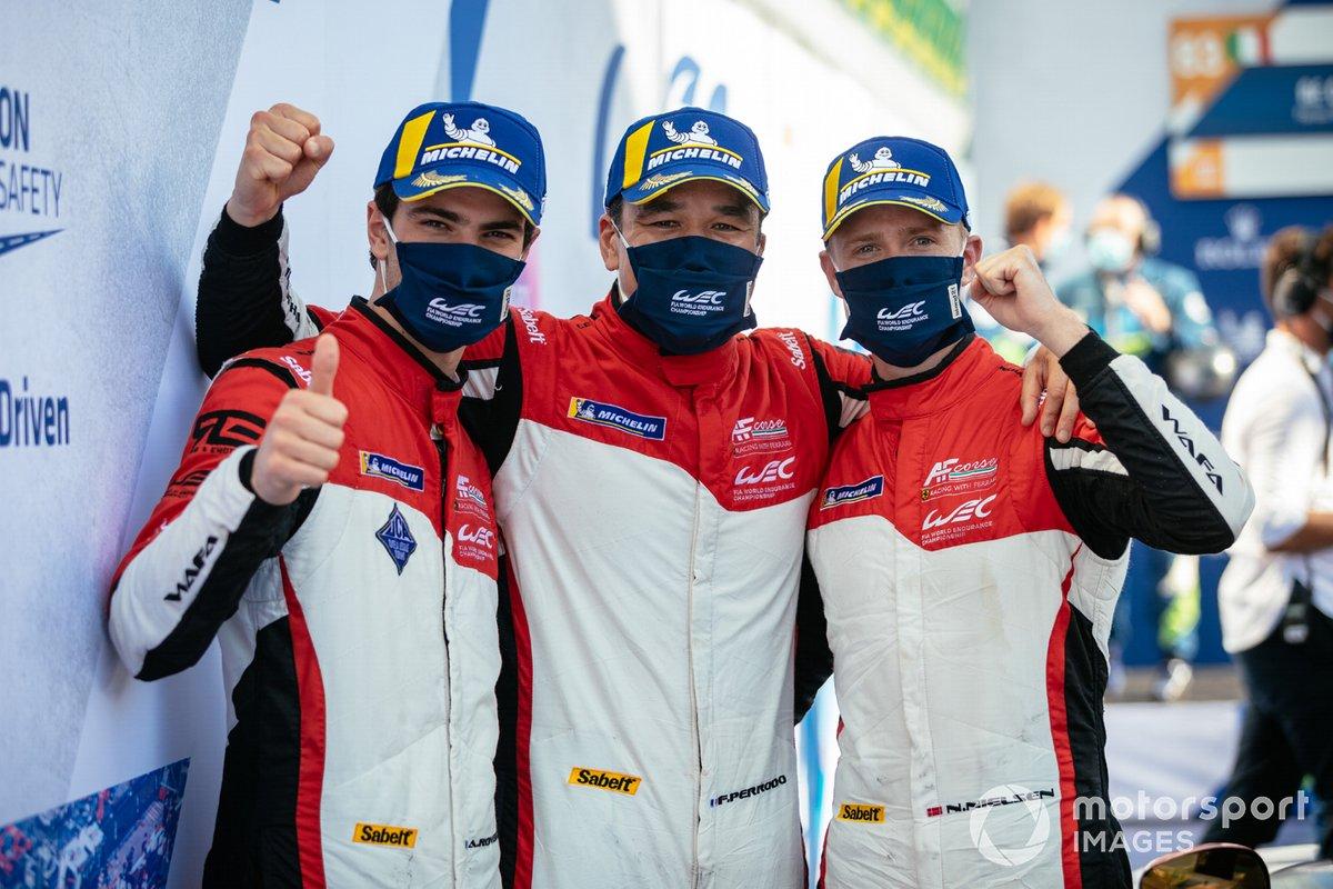 # 83 AF Corse Ferrari 488 GTE EVO: Francois Perrodo, Nicklas Nielsen, Alessio Rovera