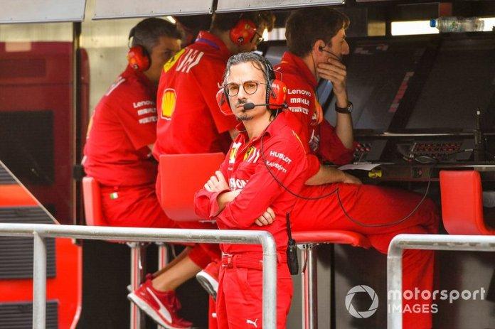 Laurent Mekies, director deportivo, Ferrari
