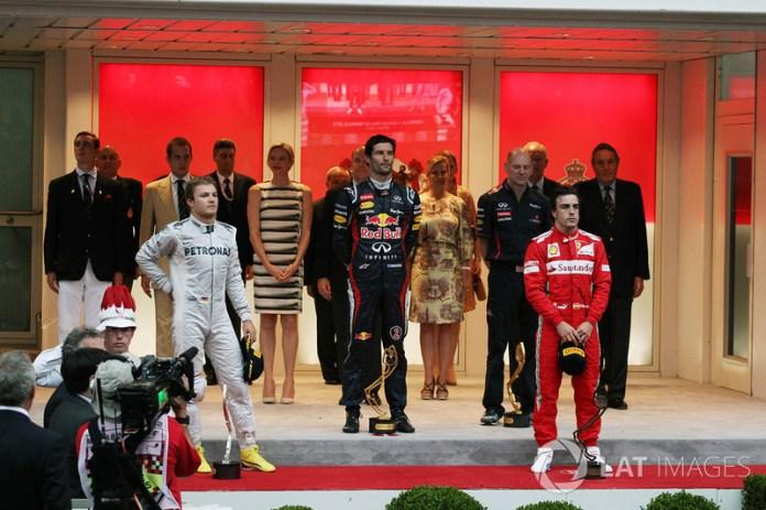 78- Fernando Alonso, 3º en el GP de Mónaco 2012 con Ferrari