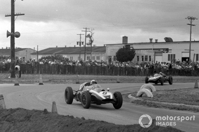 Sebring, 12 de diciembre de 1959: Jack Brabham, Cooper T51 Climax