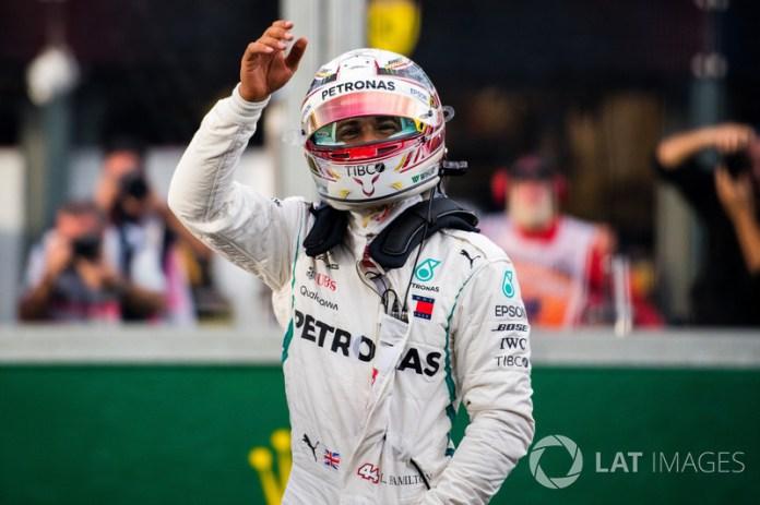 Hamilton no volvió a lograr una pole hasta Australia 2018, en el arranque de la temporada