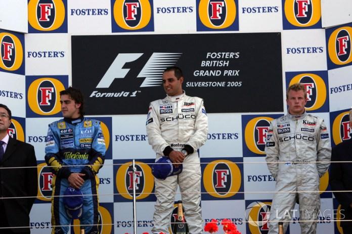17- Fernando Alonso, 2º en el GP de Gran Bretaña 2005 con Renault