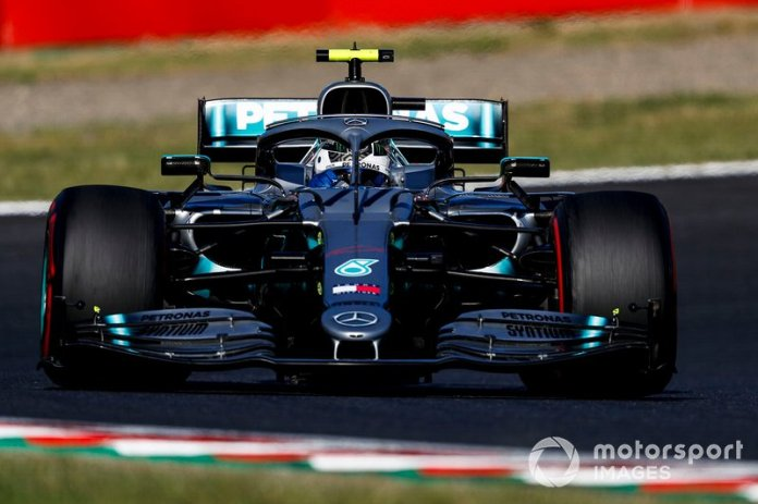 1 - Valtteri Bottas, Mercedes AMG W10