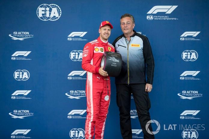 Azerbaiyán 2018: Bahréin, China, Bakú, 3 poles al hilo, su mejor racha con Ferrari.