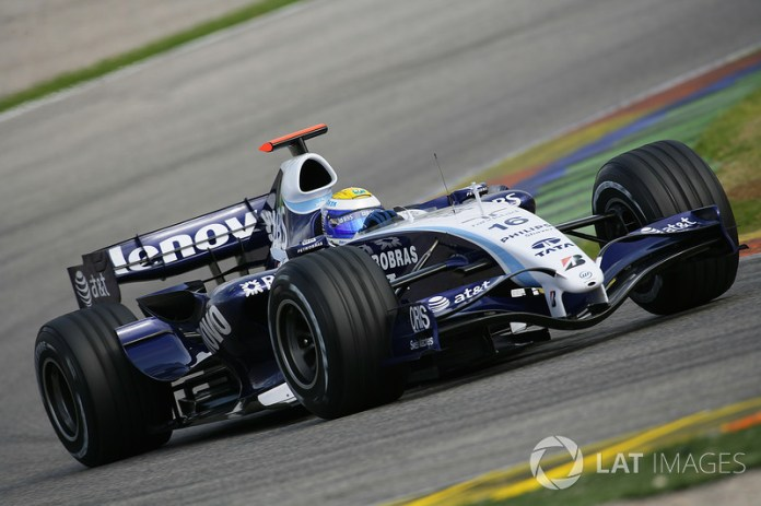 Nico Rosberg, Williams-Toyota FW29, 2007