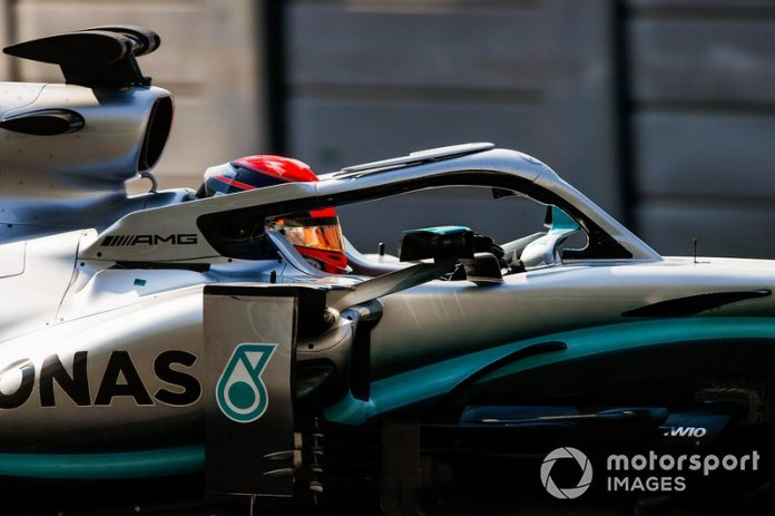 George Russell, Mercedes AMG F1 W10