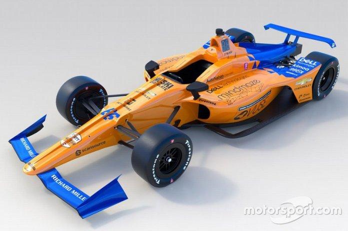 McLaren Racing para la Indy 500 (2019)