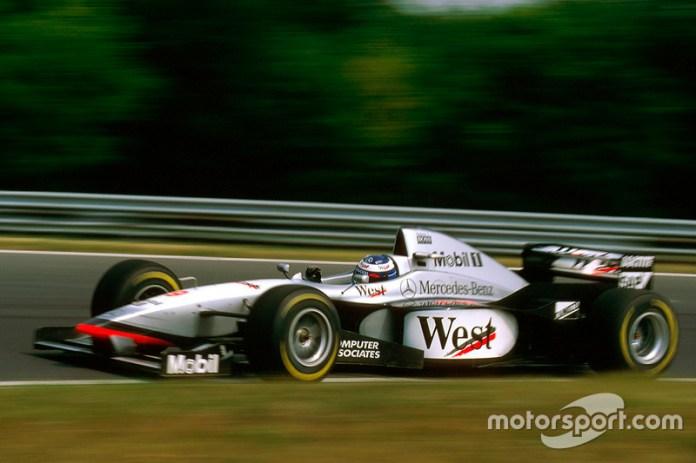 79: Mika Hakkinen, McLaren MP4/12