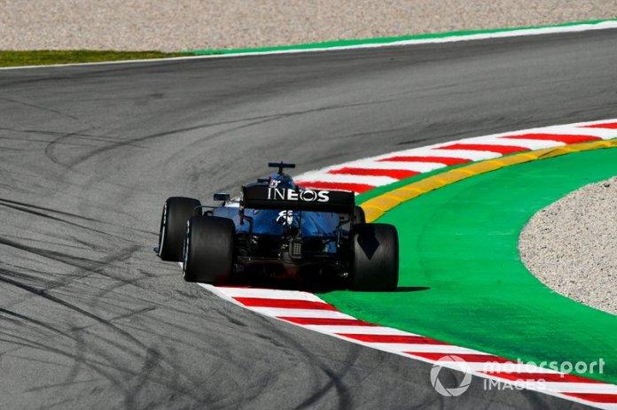 2º Lewis Hamilton, Mercedes F1 W11: 1:16.516 (con neumáticos C5)