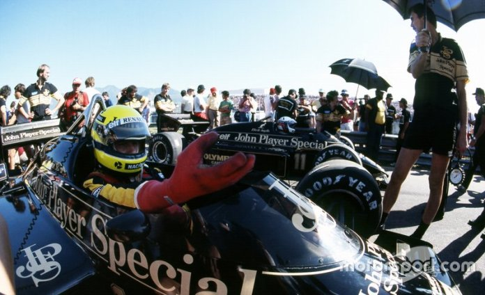 9: Ayrton Senna y Elio de Angelis (Lotus)