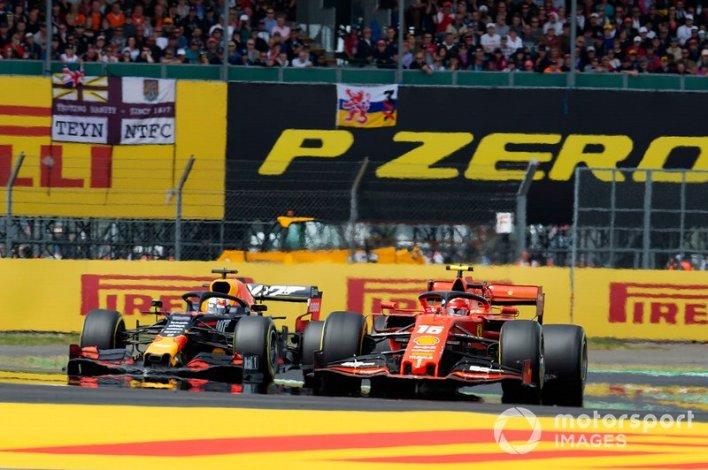 9. Leclerc vs Verstappen (Britain 2019)