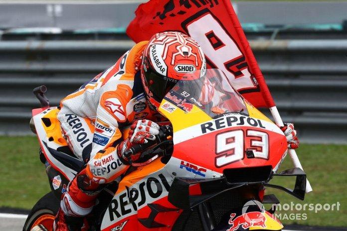 Second classified Marc Marquez, Repsol Honda Team