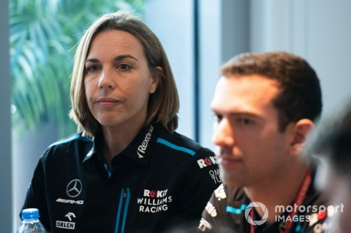 Claire Williams, subdirectora de Williams Racing