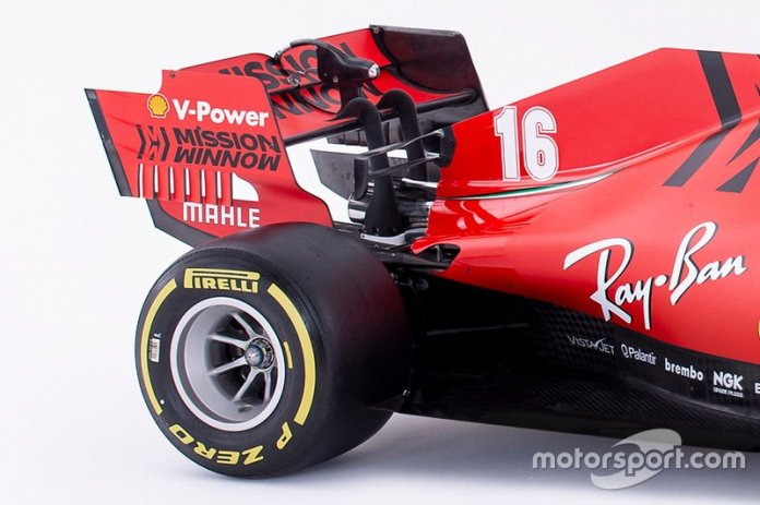 Ferrari SF1000 detalle parte trasera