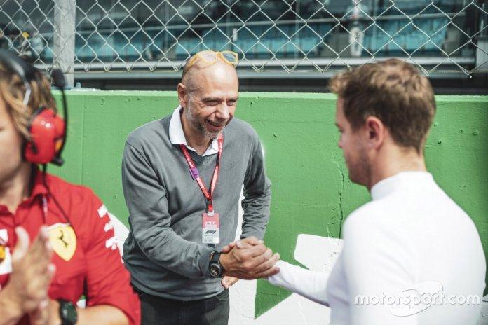 Sebastian Vettel, Ferrari con un invitado