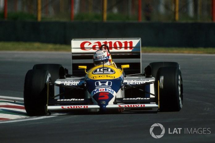 1987: Williams-Honda FW11B