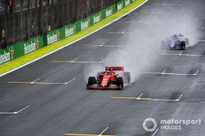 Charles Leclerc, Ferrari SF90, Pierre Gasly, Toro Rosso STR14