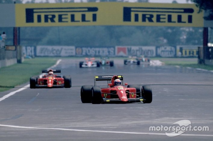 7. Mansell vs Berger (Mexico 1990)