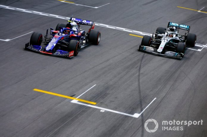 Gasly, eufórico con su primer podio en F1