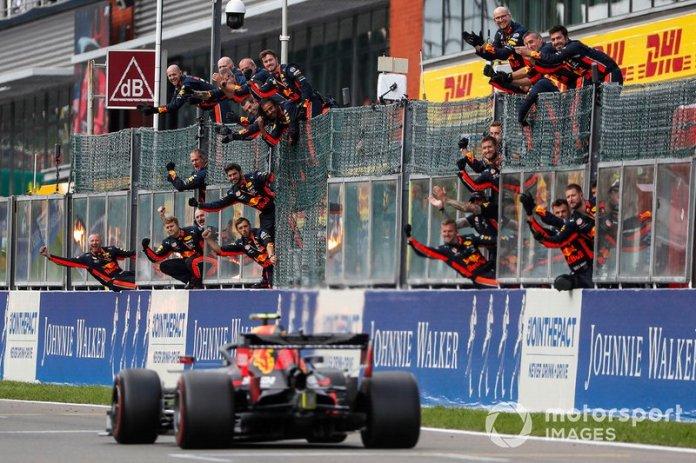 5° en Bélgica en su debut con Red Bull