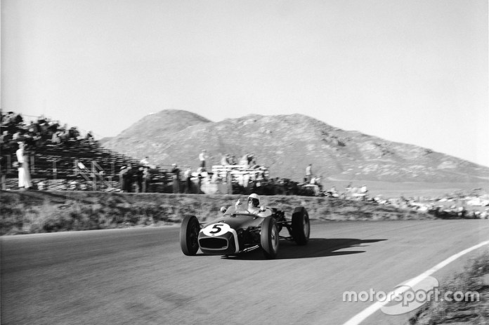 Stirling Moss, Lotus-Climax, GP de Estados Unidos de 1960