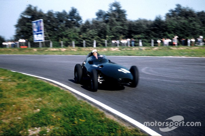 Stirling Moss, Vanwall, GP de Italia de 1957