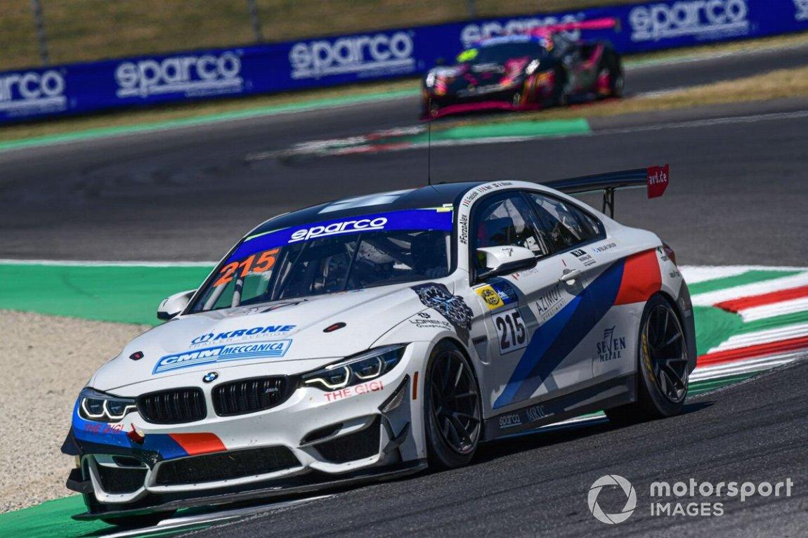 # 215 Ceccato Motors Racing-BMW Team Italy, BMW M4 GT4: Nicola Neri, Giuseppe Fascicolo, Alfred Nilsson