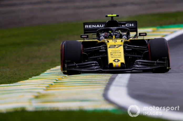 15º Nico Hulkenberg, Renault F1 Team R.S. 19 1:33:32.737