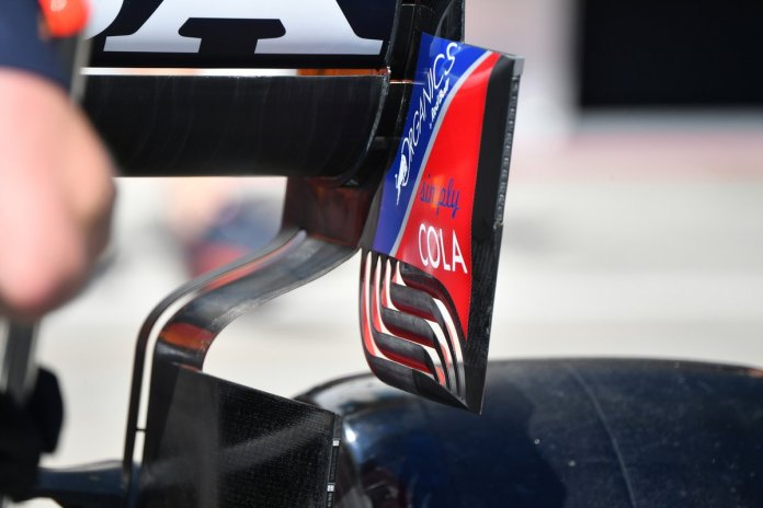 Red Bull RB16B rear detail