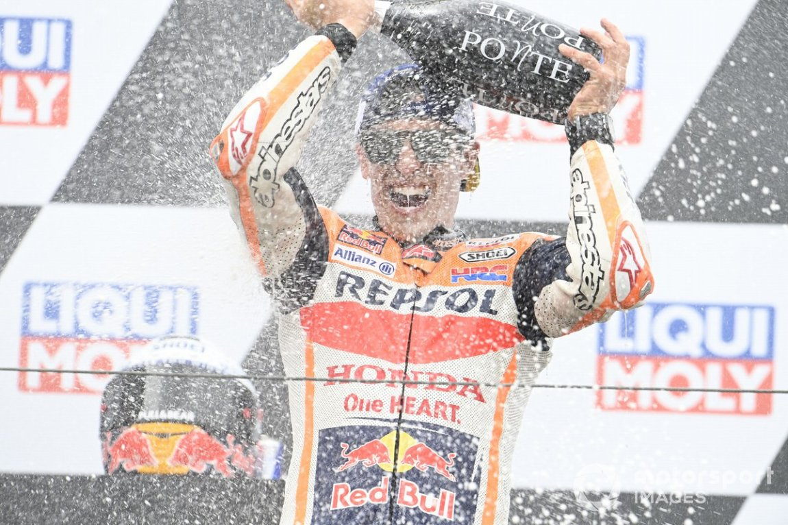 Podium: Ganador Marc Márquez, Repsol Honda Team