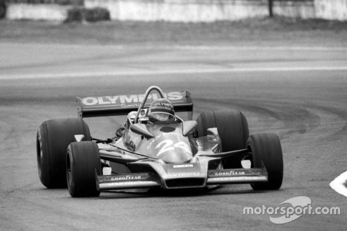 Divina Galica (GBR) Hesketh 308E, GP de Argentina 1978.