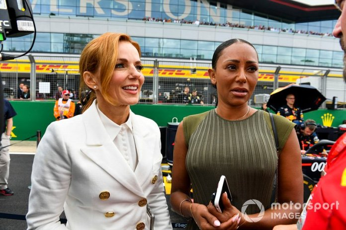 Geri Horner y Mel B, Spice Girls