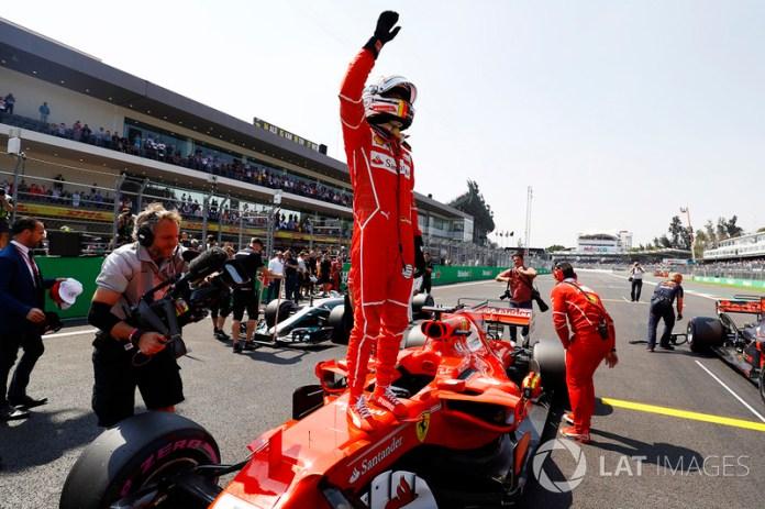 México 2017: con efímera opción de título, Vettel logra su cuarta pole del año.