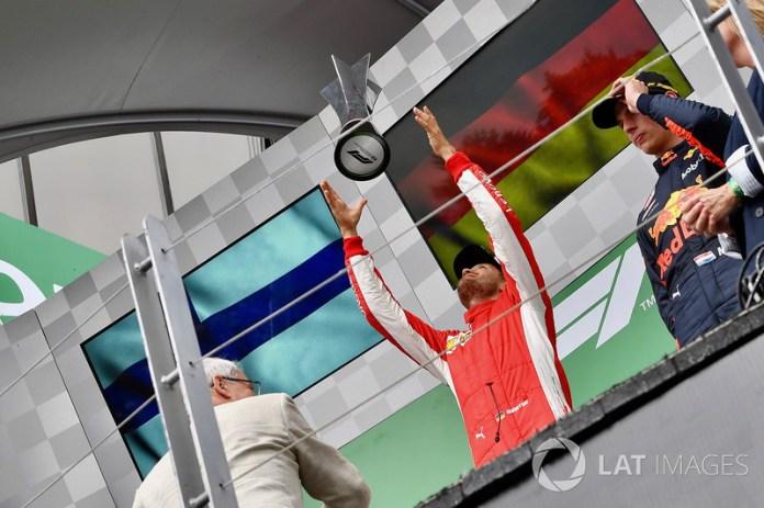 Canadá 2018: su undécima victoria junto a Ferrari lo pone líder del mundial.