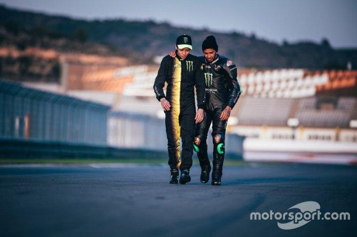 Lewis Hamilton, Valentino Rossi