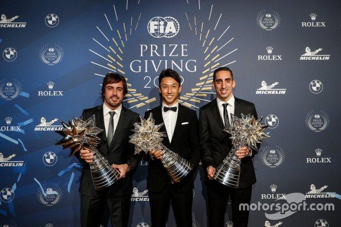 Fernando Alonso, Sébastien Beumi, Kazuki Nakajima