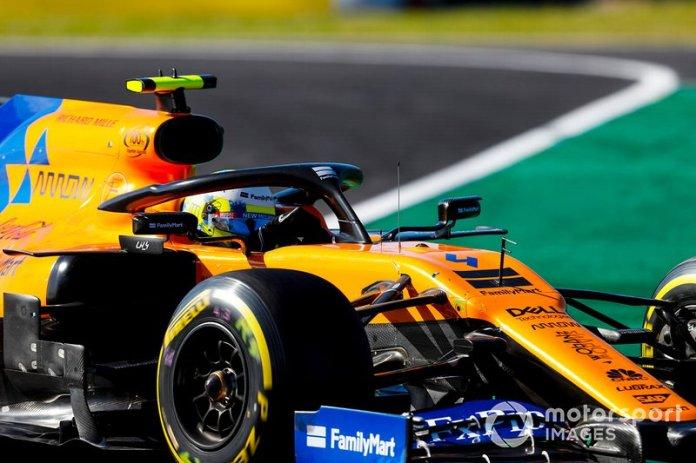 13 - Lando Norris, McLaren MCL34