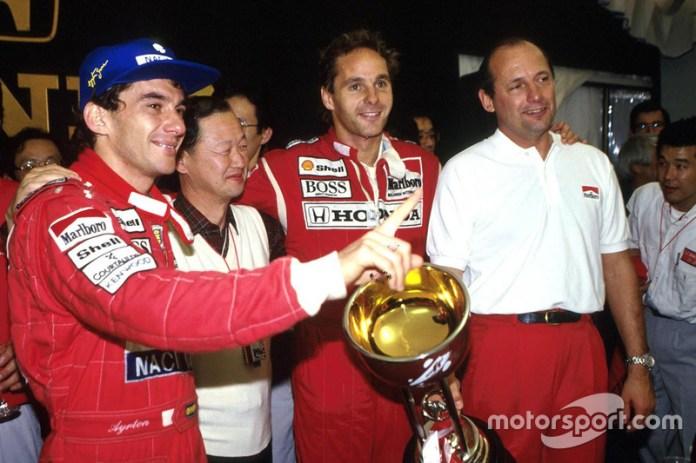 Ayrton Senna (1988, 1990, 1991)