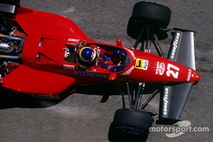 66: Michele Alboreto, Ferrari 126C4